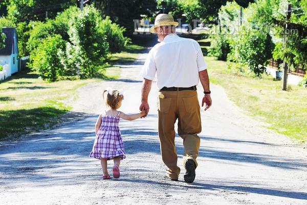 Convivência com avós ajuda no desenvolvimento