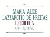 ​Maria Alice Lazzarotto de Freitas