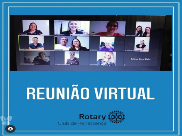 Reunião Virtual Club Rotary